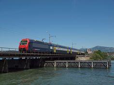 Electric Locomotive, Train, Pictures, Photos, Focal Length, Travel Report, Switzerland, Rolling Stock, Viajes