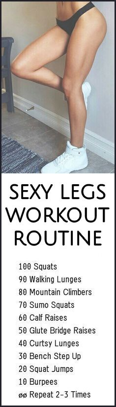 2017 Beginner Leg Workout at Home Thighs Toning Exercises - Try this simple eginner Leg Workout at Home Thighs Toning moves at home and you will start to sexify your legs and booty!