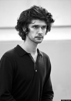 Ben Whishaw - First photo of 'mojo' rehearsals and current monumental hair style. Opening night two weeks today!!!!!!!
