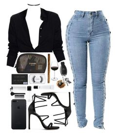 """""""""""4 am"""""""" by sassy-862 ❤ liked on Polyvore featuring Stuart Weitzman, MAC Cosmetics, Chanel, NARS Cosmetics and Sephora Collection"""