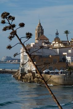 Sitges Spain  www.NorthSpainVillas.com The site of one of the most memorable of family vacations! #ilovesitges