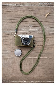 Kenji Leather Half Case for Fujifilm, X100S Green Tea Suede