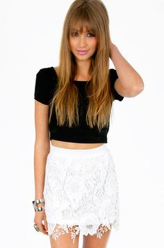 Serena Crochet Skirt $60  http://www.tobi.com/product/50702-tobi-serena-crochet-skirt?color_id=68037_medium=email_source=new_campaign=2013-05-23