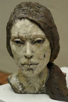Tebby George CLAY SCULPTURE MS. FAIRFAX More