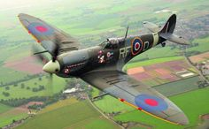 Spitfire with cannons