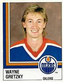 1987-88 Panini Stickers #261 Wayne Gretzky Front
