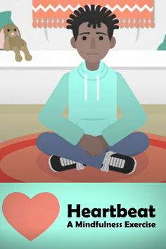 This mindfulness exercise video can help to calm overwhelming emotions and the racing heartbeat associated with them. The activity doesn't require any materials and takes just a few minutes for students to complete. Mindfulness Exercises, Learning Resources, In A Heartbeat, Workout Videos, Anxiety, Students, Racing, Calm, Activities