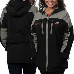 Chase Authentics Tony Stewart Womens Endurance Midweight Jacket by Football Fanatics. $74.95. Chase Authentics Tony Stewart Ladies Endurance Midweight Full Zip Jacket - Black/GrayImported100% Brushed polyester liningContrast piping and panelsTwo vertical zip pockets at chestQuality embroideryAdjustable hook and loop fasteners at cuffsLined hood without drawstringOfficially licensed NASCAR productTwo front lined pocketsFull zip jacketWater-resistant hooded jacket10...