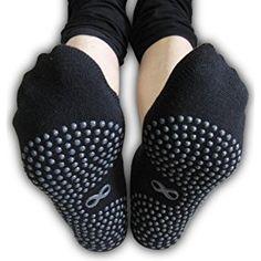 ba3cd4d38 Amazon.com   Skyba Non Slip Socks for Women- Grips for Yoga
