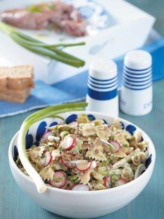 Σαλάτα με φακές και φιογκάκια #σαλάτα #φακές Pasta Salad, Potato Salad, Salads, Recipies, Potatoes, Vegetarian, Favorite Recipes, Ethnic Recipes, Author