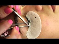 How to Do Eyelash Extensions by Bella Lash - YouTube