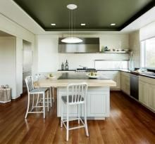A spare yet chic kitchen, from Remodelista.