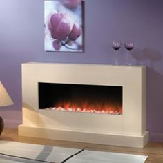 Atlanta inset electric fireplace | Flamerite Fires Electric ...