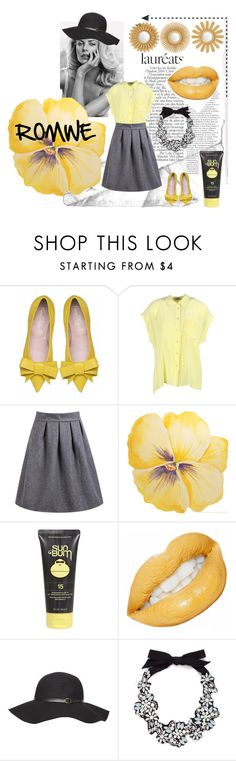 """""""High Waist Wine Grey Skirt !"""" by kadustata ❤ liked on Polyvore featuring Equipment, Sun Bum, Dorothy Perkins and J.Crew"""