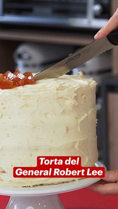 Vanilla Cake, Cheesecake, Desserts, Videos, Food, Sweet, Lemon Cream, Crack Cake, Juices