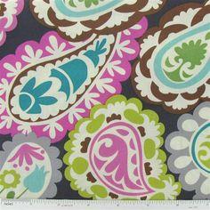 Roco Beat Paisley Fabric