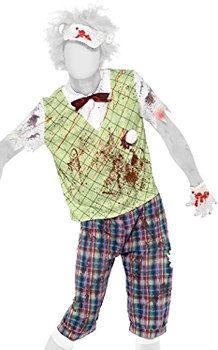 Ir a jugar al golf con eleganten pantalones a cuadros, chaleco y corbata y acabar convertido en #zombie... en #Halloween todo vale. http://www.idealo.es/precios/4841919/smiffy-s-zombie-golfer-costume.html