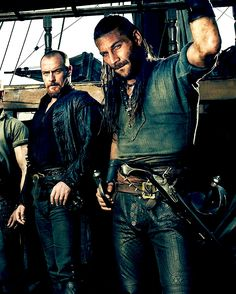 Toby Stephens & Zach McGowan (Black Sails Season 3)