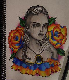 undercut girl by FraH on DeviantArt