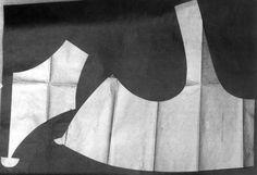 DigitaltMuseum Drakt, Snittmonster, upplut Produksjon 1820 ca. Folk Costume, Costumes, Vest Pattern, Pattern Making, Norway, Museum, History, Hipster Stuff, Minimalism