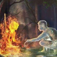 Dark Fantasy Art, Illustration Art Dessin, Flame Art, Cool Art, Art Drawings, Digital Art, Graphics, Artwork, Painting