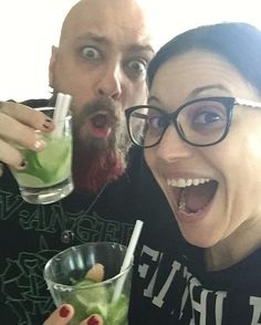 "3,077 Likes, 40 Comments - Cristina Scabbia (@cristinascabbia) on Instagram: ""Parthayyy with the boys in Belo Horizonte. Rio de Janeiro tomorrow!!! @maki @lacunacoilofficial"""