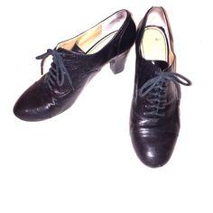 Nine West Lace Up Booties Classic black lace up booties! Nine West Shoes Ankle Boots & Booties