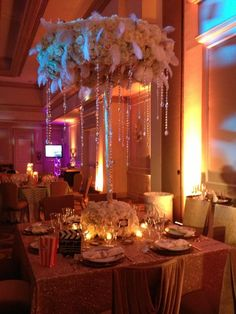 Taste of NACE 2013 Tabletop Competition Winner!!!! Peacock Premier Events Glamorous Great Gatsby Winning Design for Taste of NACE Tabletop competition at Turnberry Isle Miami!! Thank you to Dalsimer Atlas for the incredible floral centerpiece & decor! Thank you Nuage Designs Miami for the beautiful sequin linens, napkins & crystal napkin rings, Panache for the incredible Chameleon Chairs, China, Chargers & Flatware, Atlas Party Rentals for the square table & gorgeous glam glassware.