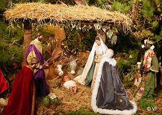 Crèche de Noël à Mane en Provence