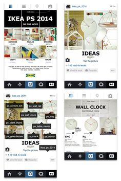 Online marketing op zijn best: een mini-website in #Instagram #IKEA