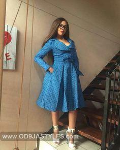 2017 african sotho shweshwe dresses - style you 7 African Dresses For Women, African Print Dresses, African Attire, African Fashion Dresses, African Clothes, Ankara Fashion, African Wear, African Prints, African Style
