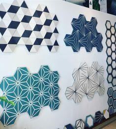 """Eureka Cement Tiles on Instagram: """"#madeinvietnam #concretetile #cementtiles #hexagonaltiles #eurekatile #eurekacementtiles .<3"""" Interior Design Living Room, Living Room Decor, Bedroom Decor, Kitchen Tiles, Kitchen Flooring, Toilette Design, Hexagon Tiles, Geometric Tiles, Interior Paint Colors"""