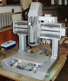 Hobbies On The Computer Metal Lathe Projects, Cnc Projects, Cnc Milling Machine, Router Machine, Hobby Cnc, Cnc Spindle, Cnc Table, Diy Cnc Router, Cnc Plans