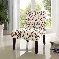 Shop for Teagan Armless Accent Chair. Get free shipping at Overstock.com - Your…