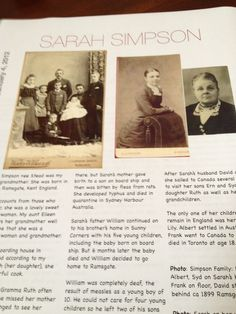 Family History Book ~ You don't need to be a scrapbookers to document your family history.