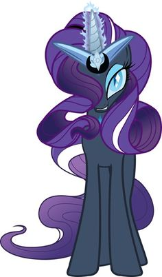 I think this shall be my Nightmare Night costume! I am Nightmare Rarity! Mwahahaha!