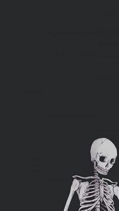 Cute Fall Wallpaper, Halloween Wallpaper Iphone, Mood Wallpaper, Dark Wallpaper, Tumblr Wallpaper, Cartoon Wallpaper, Wallpaper Backgrounds, Skull Wallpaper Iphone, October Wallpaper