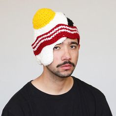 5db01a11635 None of Your Hats Are As Cool As These Crocheted Food Hats Knit Crochet