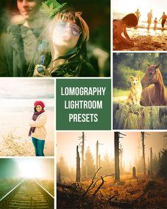 Lomography  Retro Film Inspired  10 Lightroom by PresetsGalore, $6.00