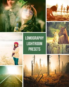 Lomography  Retro Film Inspired  10 Lightroom by PresetsGalore, $6.00