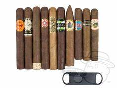 Cigar Deal: BCP First Class 10 Cigar Sampler W/ Cutter - $19.99
