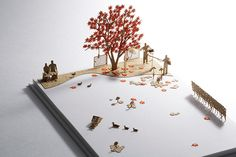 1/100 ARCHITECTURAL MODEL ACCESSORIES SERIES Special edition Roppngi Hills MOHRI GARDEN