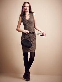 London Lace Sleeveless Sheath Dress by Burberry London on Gilt.com