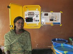 Martha Hussaina just helped install a Solar Suitcase in a Nigerian hospital labor room. WE CARE Solar's portable power kits were originally designed to provide quality obstetric care in northern Nigeria, where unreliable electricity in local hospitals put many women's lives at risk. #ChangemakeHERS