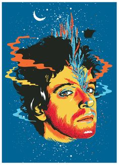 "Gustavo Cerati ""Lisa"" Poster on Behance"