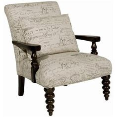 Paula Deen Home Upholstered Exposed Wood Chair with Spool Turned Legs by Paula Deen by Universal - Wolf Furniture - Exposed Wood Chair