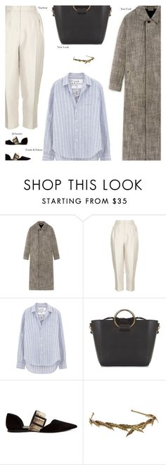 """""""Untitled #4566"""" by amberelb ❤ liked on Polyvore featuring Topshop, Frank & Eileen and Jil Sander"""