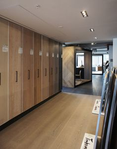 Showroom for in Oslo Material Design, Oslo, Interior Design Inspiration, Showroom, Divider, Projects, Furniture, Home Decor, Log Projects