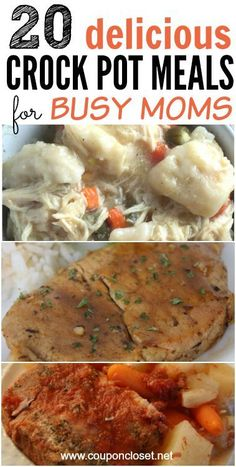 Here is a roundup of Crock pot Meals for Busy Moms that taste amazing and won't cost you a fortune to make.
