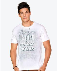 Camiseta Fim de ano É tempo de viver coisas novas - eCristo - Camisetas…